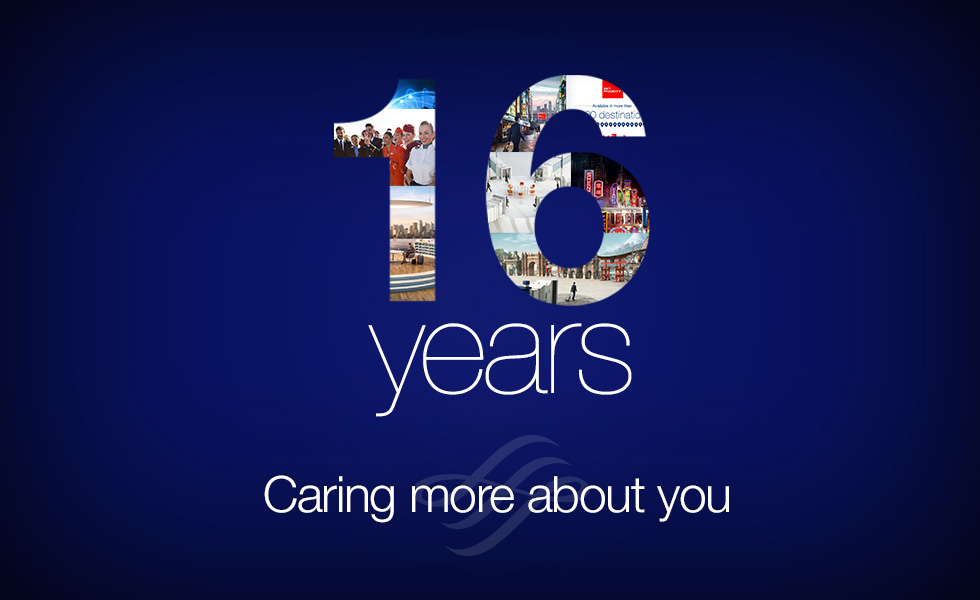16 Years of Caring More About You