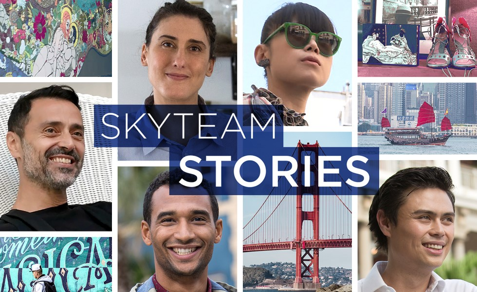 Qual è la storia di SkyTeam Stories?