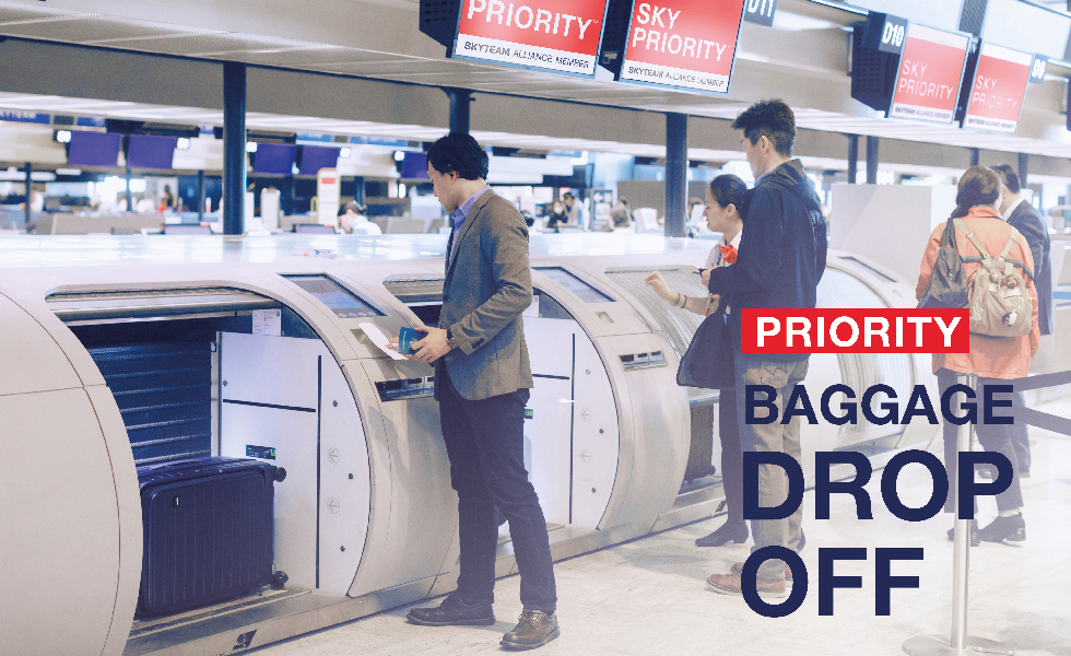 Priority Baggage Drop-off