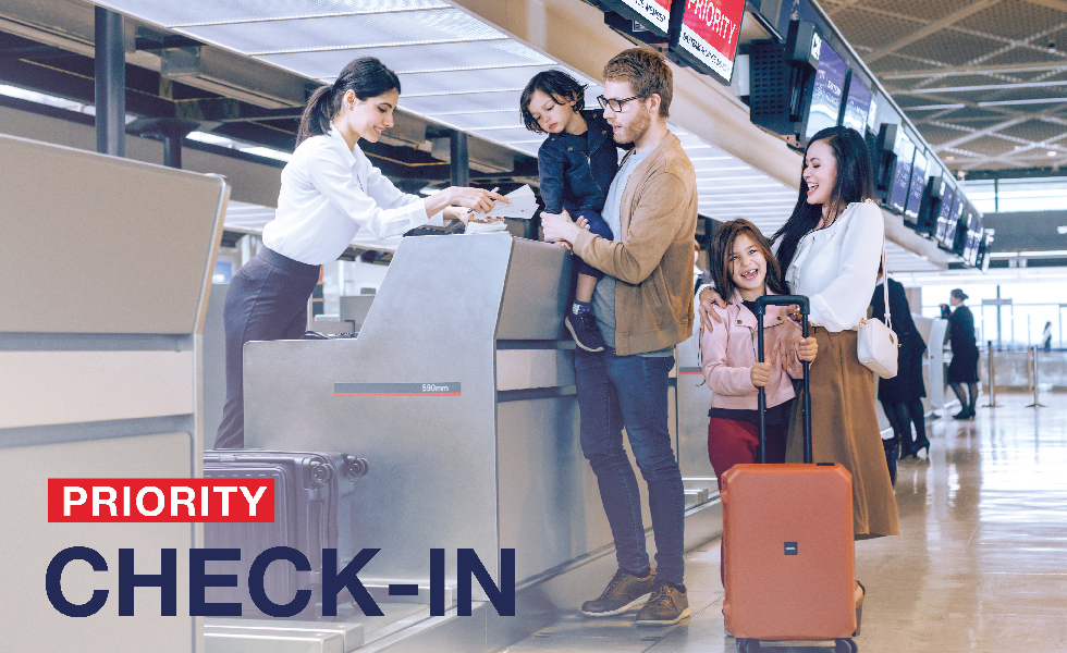 Priority Check-in