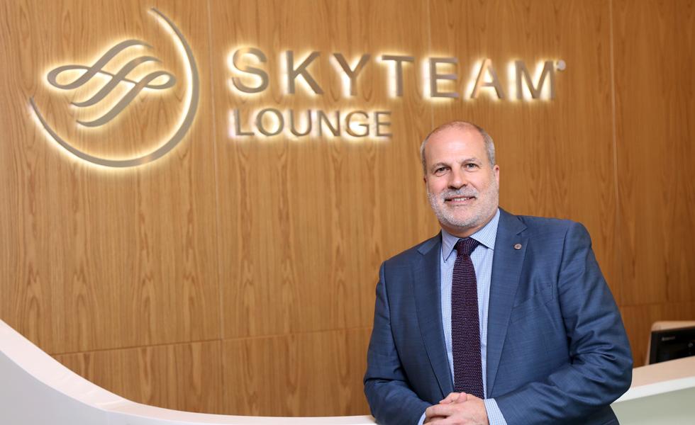 SkyTeam annuncia l'espansione delle lounge, con una particolare attenzione alla tecnologia
