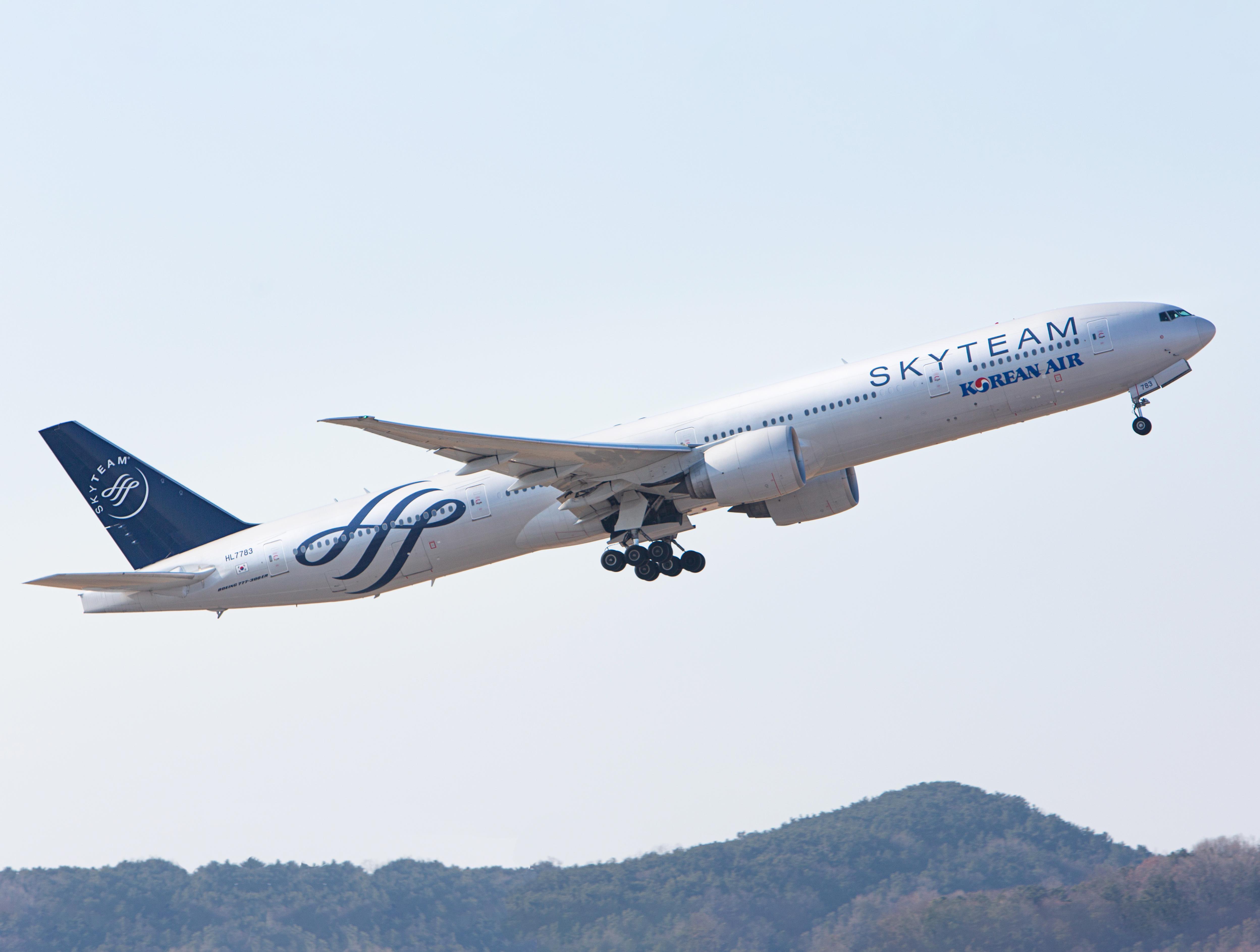 الخطوط الجوية الكورية