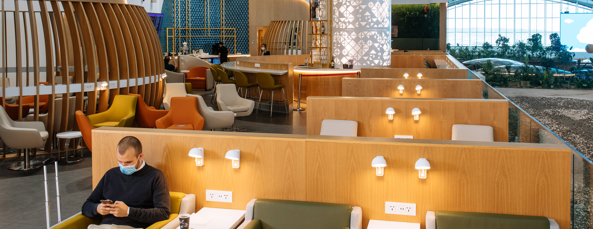 SkyTeam Lounges Have Safety in Mind 24/7
